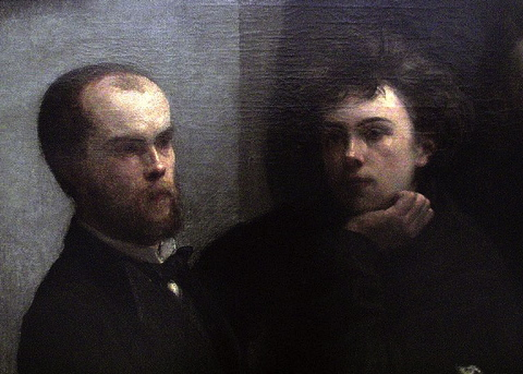 What french man said i do not like women love must be - Un coin de table fantin latour ...